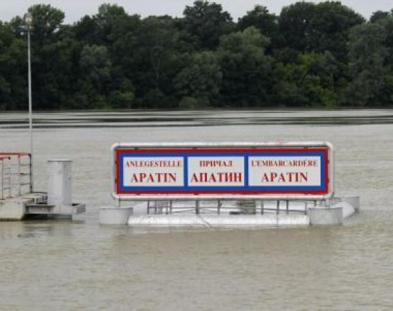 Vanredne mjere na još 40 km toka Dunava