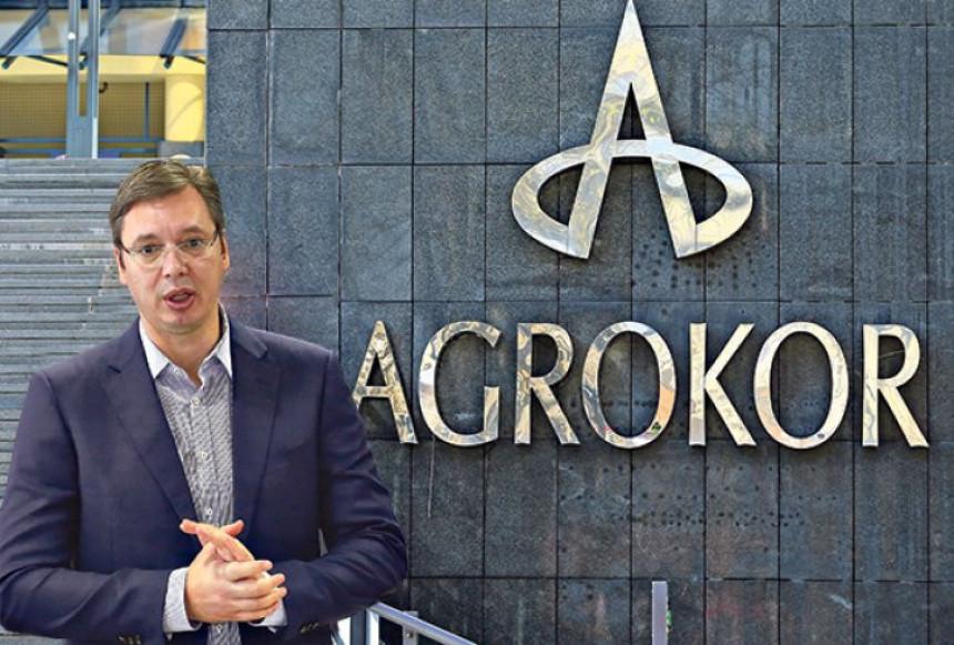 """Vučić i ministri: Tema """"Agrokor"""""""