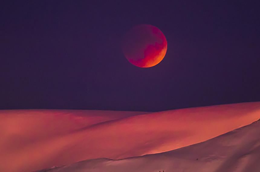 Spektakl na nebu: Mjesec pink boje