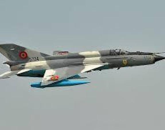 Srušio se sirijski avion