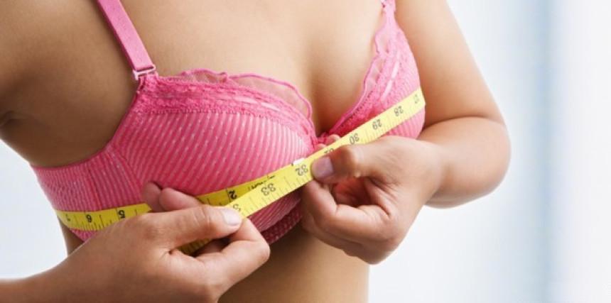 Mapa prosječnih veličina grudi žena širom svijeta