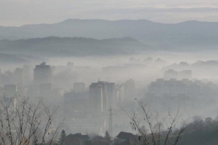 Po zagađenosti vazduha BiH na spisku najgorih