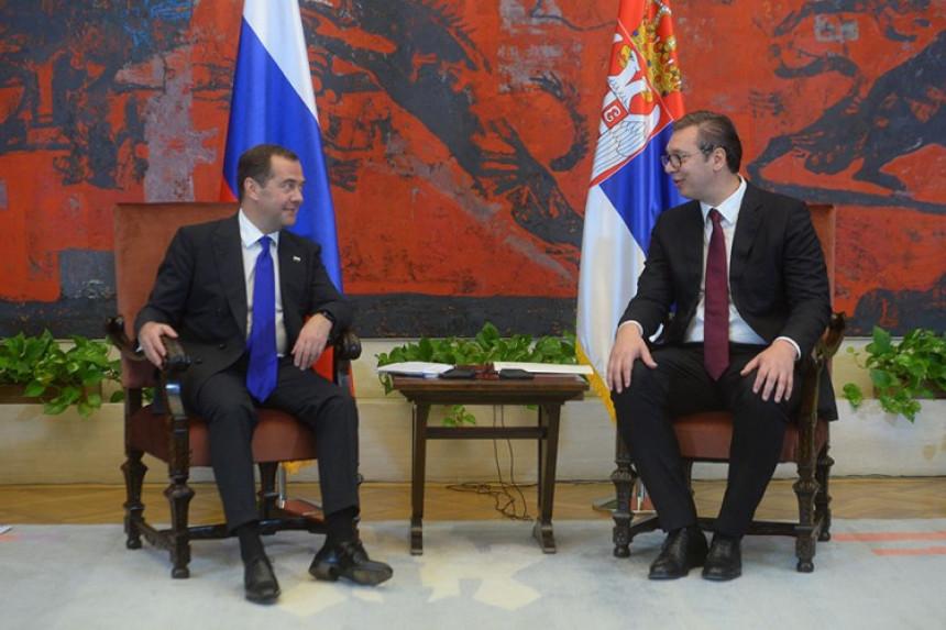 Posjeta Medvedeva potvrđuje odnose prijateljstva