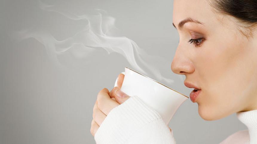 Nikad nemojte piti vreo čaj