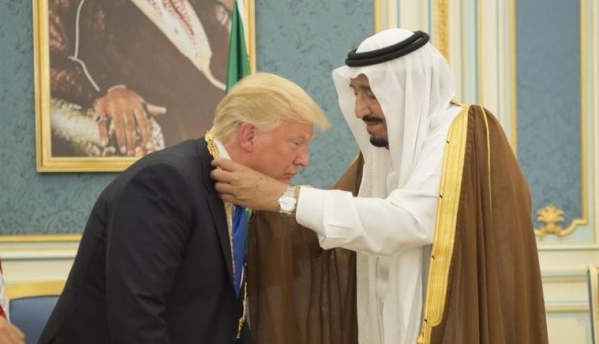 Трампу медаља краља Абдулазиза
