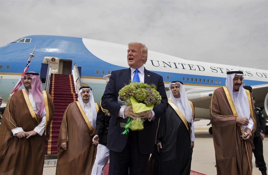 Kraljevski doček u S. Arabiji