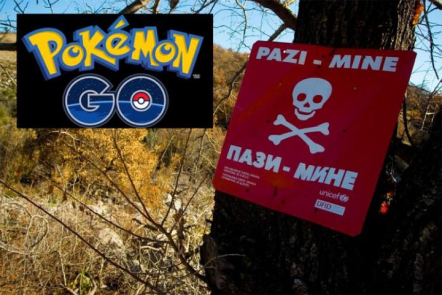 Građani BiH ulaze na minska polja da hvataju pokemone?!