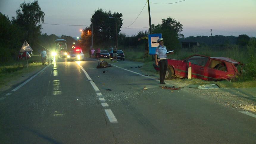 Zagoni: Poginuo mladić (22) u teškoj nesreći