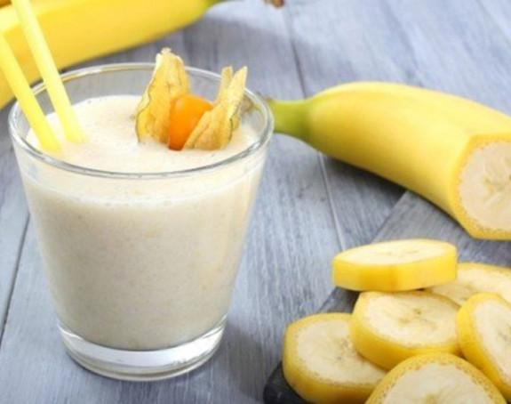Mlijeko i banana dobri za miran san