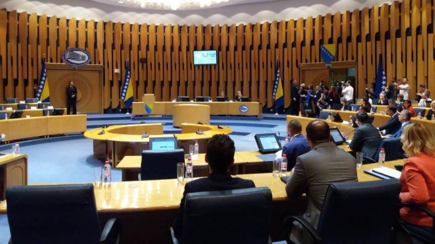 Dom naroda PSBiH o Prijedlogu budžeta za 2019.