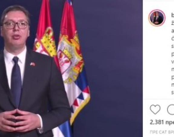 Vučić potvrdio da ide u Kinu i to na kineskom