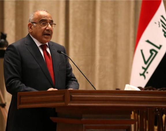 Irački premijer poslao jasnu poruku Americi