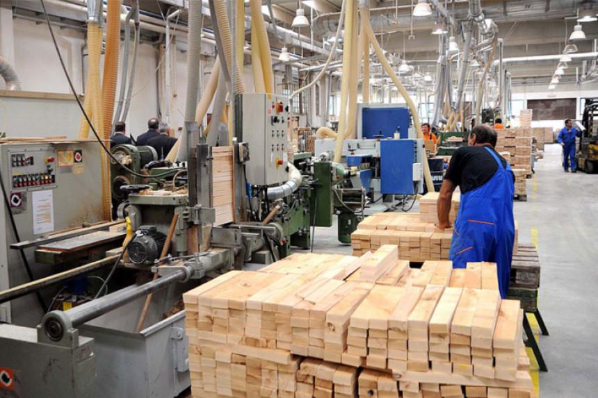 Nastavlja se pad industrijske proizvodnje