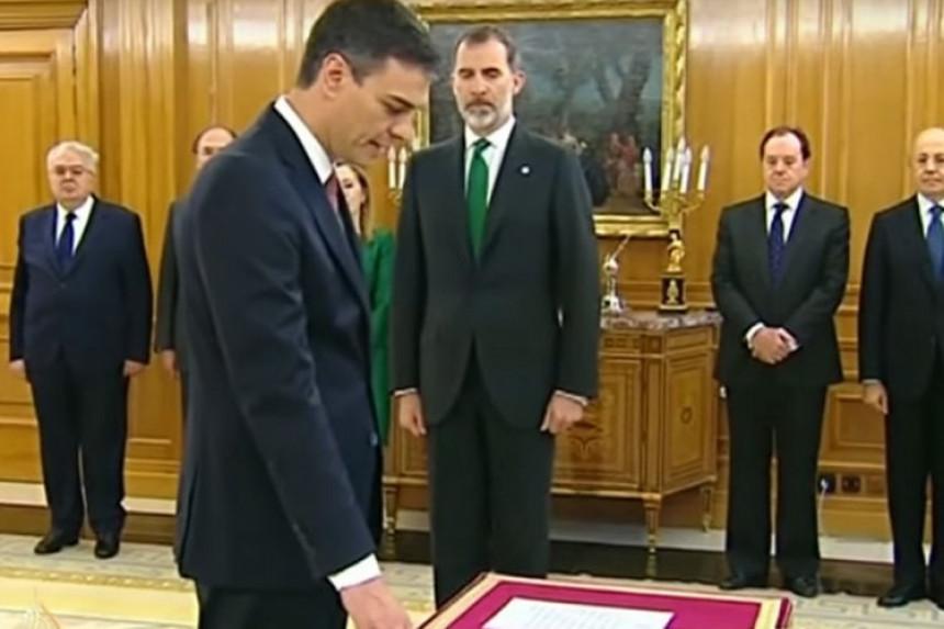 Nova Vlada Španije položila zakletvu