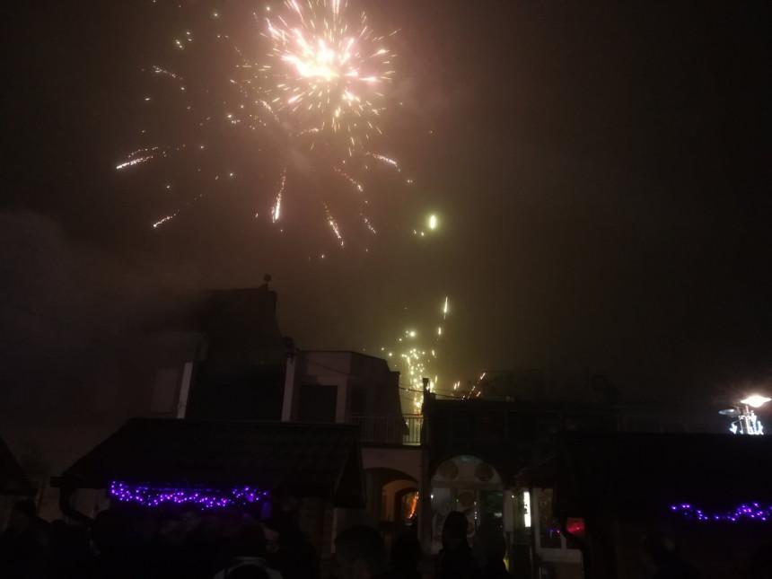 Православна Нова година дочекана широм Српске