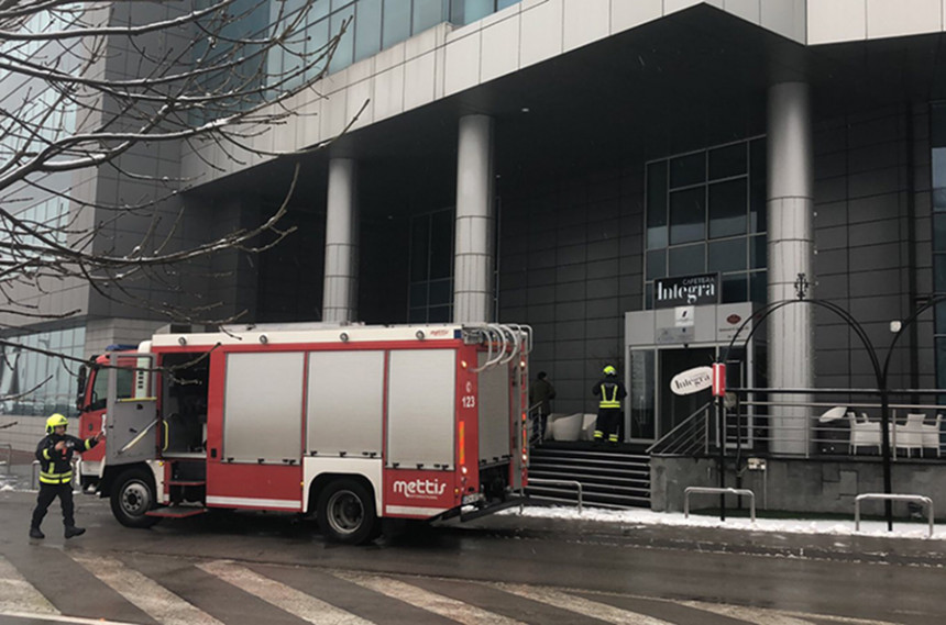"""Požar u restoranu """"Integra"""" u Banjaluci"""