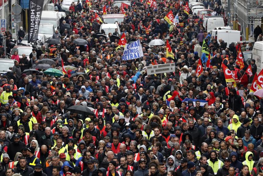 Francuska na nogama zbog reforme penzija
