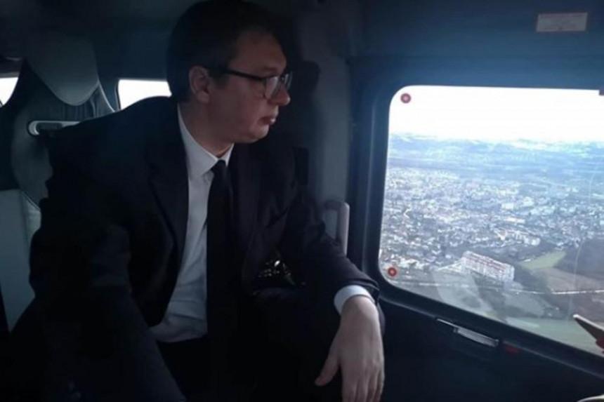 Aleksandar Vučić na putu za Drvar i Mrkonjić Grad