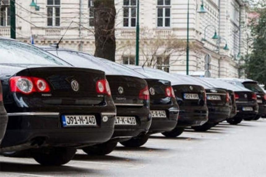 Da li se krije broj službenih vozila u BiH?
