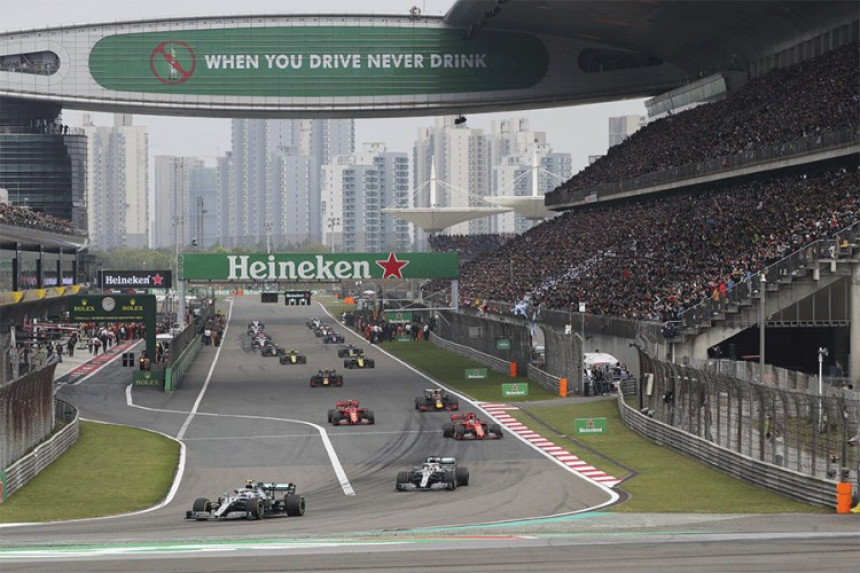 Трка Формуле 1 отказана због вируса корона