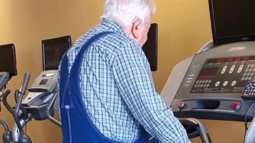 Deda u 91 godini postao heroj teretane!