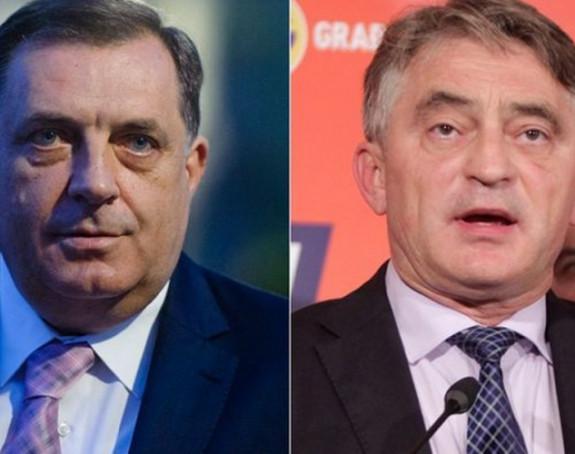 Dodik se žali EU: Komšić ide privatno u Brisel