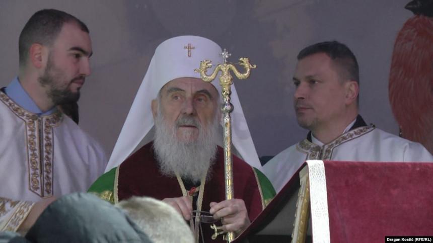 Patrijarh ne može u C. Goru zbog ranije zakazanih obaveza
