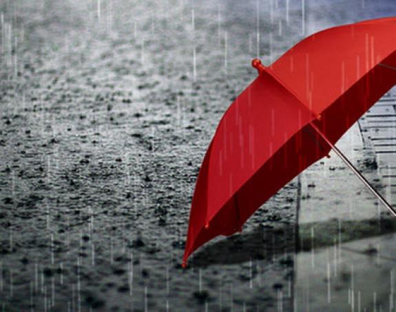 Stiže promjena vremena, danas treba i kišobran