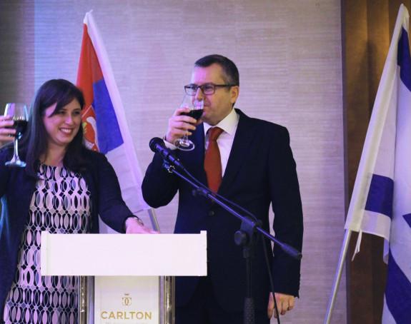 Promotivno za Dan državnosti Srbije u Tel-Avivu