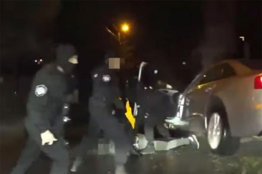 Dramatični snimak hapšenja zbog pokušaja ubistva