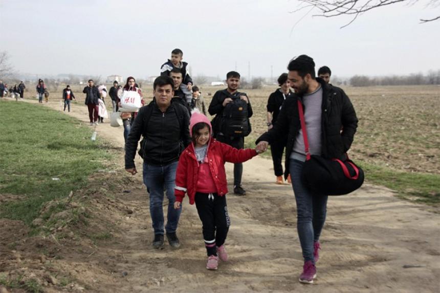 Grčka zatvorila granicu s Turskom zbog migranata