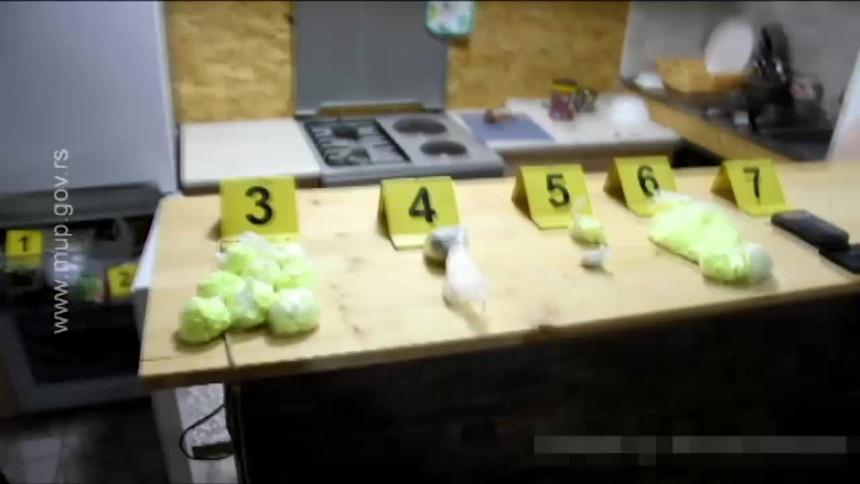 Akcija MUP-a: Pronađena droga u zamrzivaču