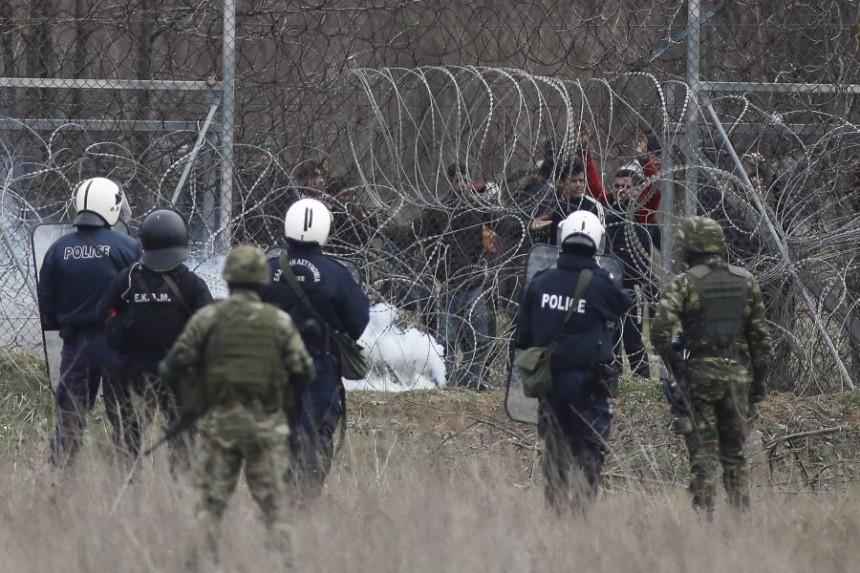Grčka: Dramatični prizori zbog haosa sa migrantima