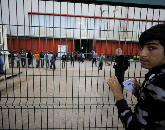 Nasilan pokušaj ulaska u kamp za migranate