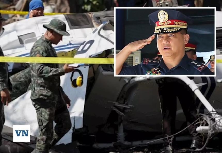 Srušio se helikopter u kome je bio direktor policije