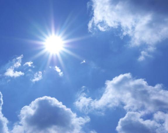 Danas sunčano vrijeme, krajem dana naoblačenje