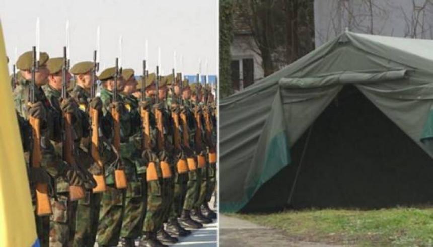 Evo gdje će biti šatori Oružanih snaga BiH