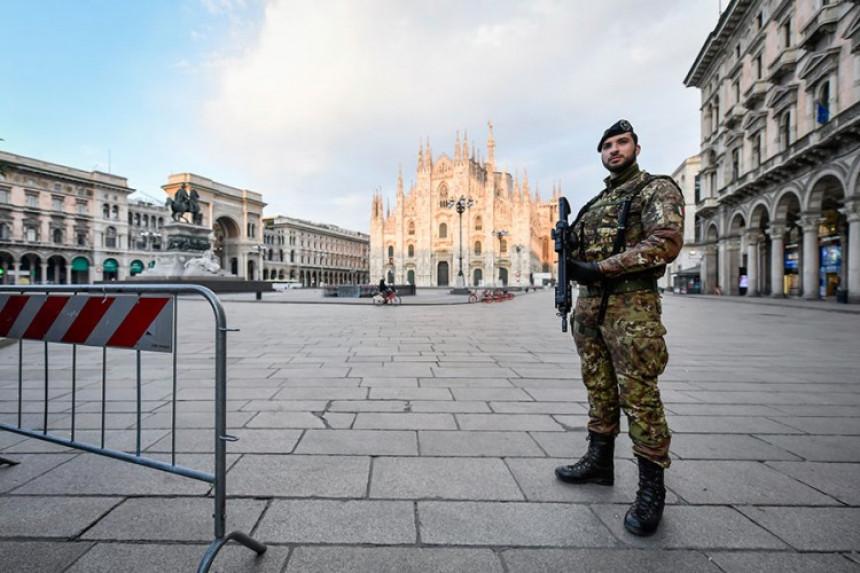 Italija uvodi nove mjere za suzbijanje širenja virusa