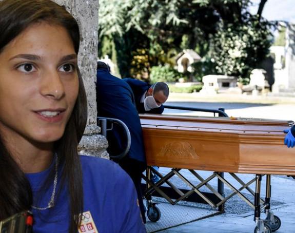 Italija: Nema ni oproštaja od bližnjih...