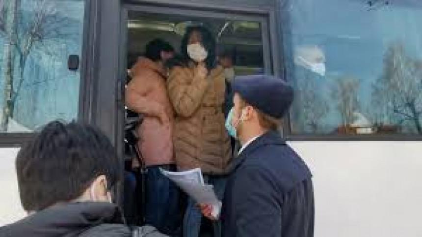 Šokantne slike iz Banjaluke, stotine radnika BEMA u autobusima!