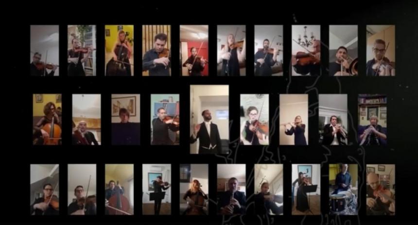 "Muzičari SNP-a u znak solidarnosti sa Italijom održali ""onlajn"" koncert! (VIDEO)"