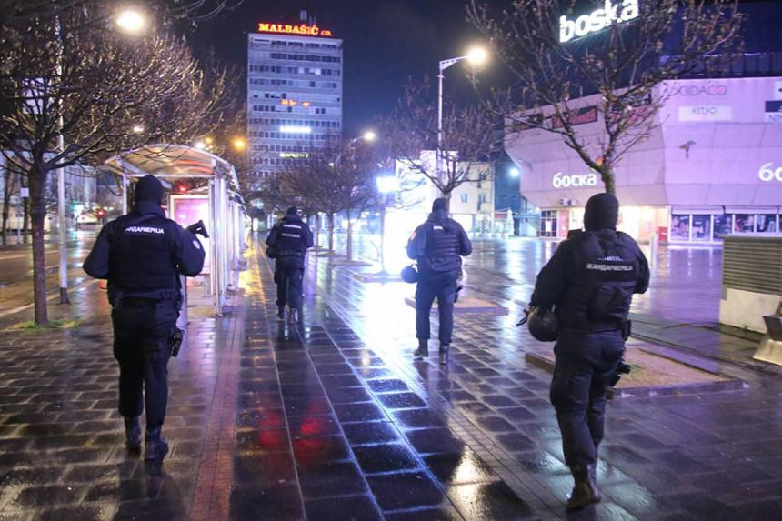 Policijski čas u Srpskoj prekšilo 48 građana