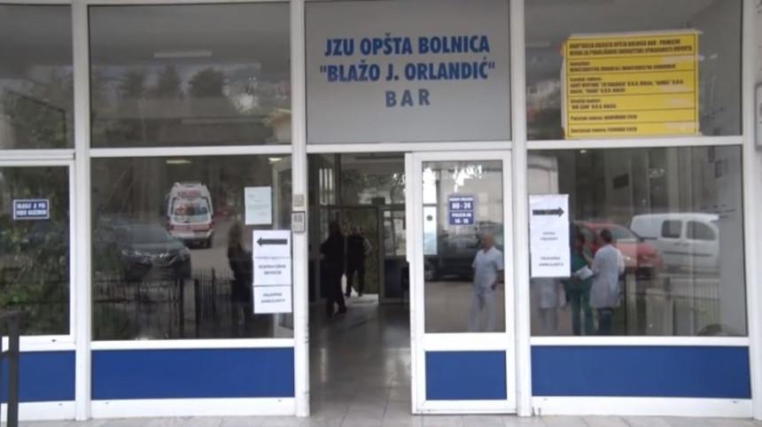 Medicinari bolnice u Baru nalaze se u izolaciji