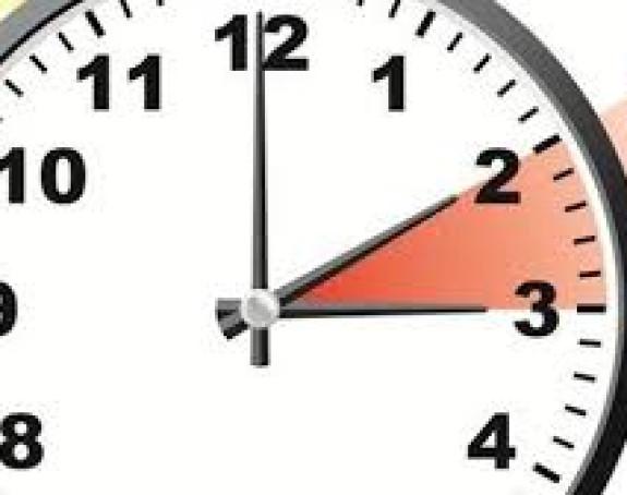 Počelo ljetnje računanje vremena