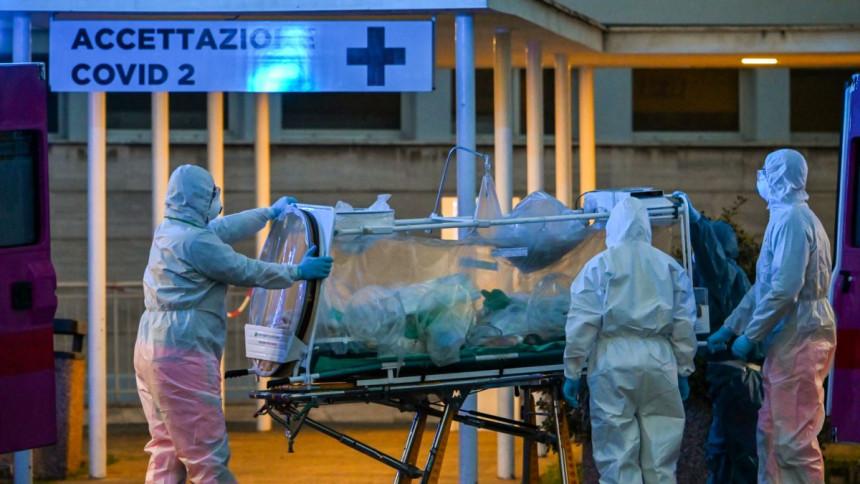 Lombardija: Broj preminulih ljudi za jedan dan 458
