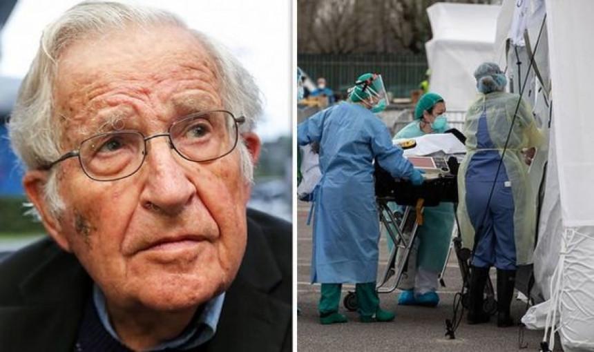"""Noam Čomski: """"O korona virusu se mjesecima sve znalo"""""""