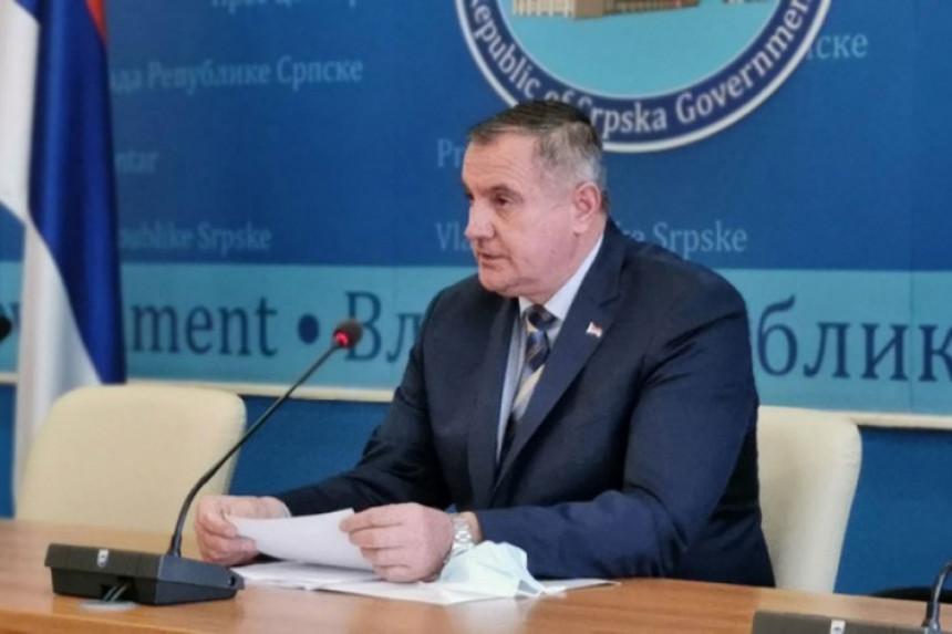 Višković: Strah da FBiH ne ugrozi mjere u Srpskoj