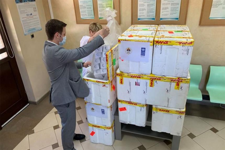 Institutu isporučeno 22.000 testova za virus korona
