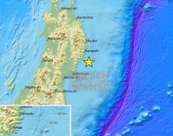 Snažan zemljotres jačine 6,1 stepeni pogodio Japan
