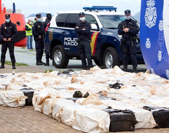 Razbijen lanac šverca: Zaplijenjene četiri tone kokaina